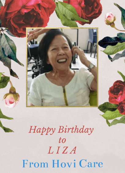 Celebration at Senior Day Care Centre